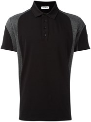 Dirk Bikkembergs Stripe Polo Shirt Black