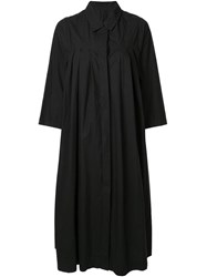 Casey Casey Charlotte Oversized Shirt Dress Black