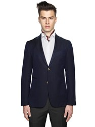 Z Zegna Wool Mohair And Silk Structured Blazer