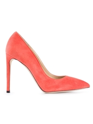 Alberto Moretti Pointed Toe Pumps Yellow And Orange