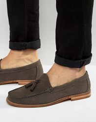 New Look Loafers With Tassels In Dark Brown Dark Brown
