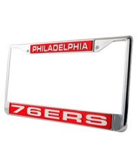 Rico Industries Philadelphia 76Ers License Plate Frame Team Color