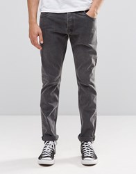 Weekday Wednesday Slim Jeans Black Soil Black Soil 08 101