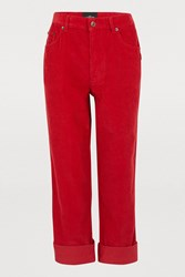 Marc Jacobs The Corduroy Jeans Red