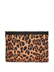 Dolce And Gabbana Small Leopard Print Pouch Leopard