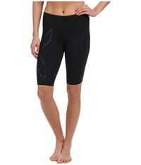 2Xu Elite Mcs Compression Short Black Nero Women's Workout