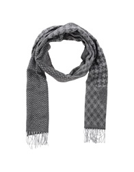 Daniele Alessandrini Oblong Scarves Steel Grey