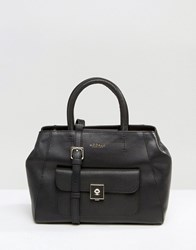 Modalu Leather Small Tote Bag Black