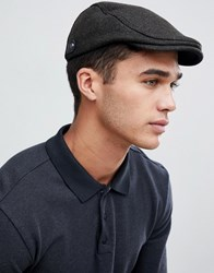 Ted Baker English Twill Flat Cap Green