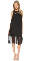 Shoshanna Gemma Dress Jet