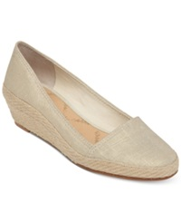 Lucky Brand Women's Tomlinn Espadrille Wedges Women's Shoes Blue