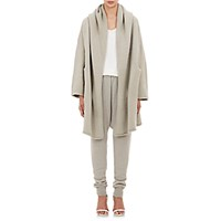 Lauren Manoogian Women's Hooded Capote Coat Light Grey