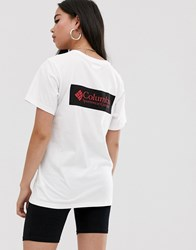 Columbia North Cascades T Shirt In White