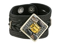 Leather Rock B815 Black Bracelet