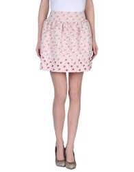 Tomaso Mini Skirts Pink