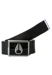 Nixon Enamel Belt Black