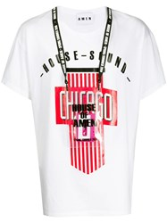Amen Graphic Print T Shirt White
