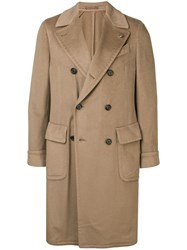 Dell'oglio Double Breasted Coat Neutrals
