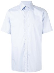 Gieves And Hawkes Striped Shirt White