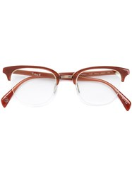 Paul Smith 'Percy' Glasses Red