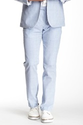Wd.Ny Seesucker Suit Separates Pant Blue