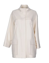 Mauro Grifoni Coats And Jackets Coats Women White