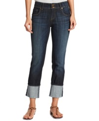 Kut From The Kloth Cuffed Straight Leg Jeans Opulent Wash