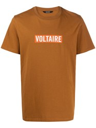 Zadig And Voltaire Printed Logo T Shirt 60