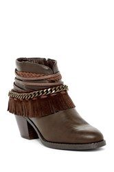 Rampage Tumble Bootie Brown