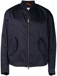 Oamc Bomber Jacket Blue