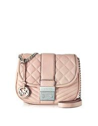 Michael Kors Elisa Leather Medium Crossbody Bag Ballet