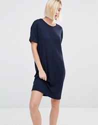 Selected Elva T Shirt Dress Navy