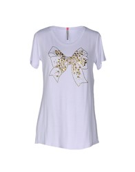 Scee By Twin Set T Shirts White