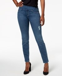 Lee Platinum Petite Medium Wash Skinny Jeans Saga Dest