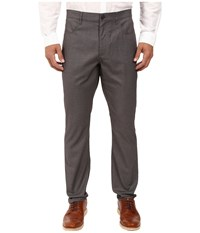 Perry Ellis Slim Fit Four Pocket Dress Pants Gray Heather Men's Dress Pants