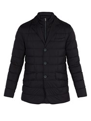 Herno Quilted Jacket Navy