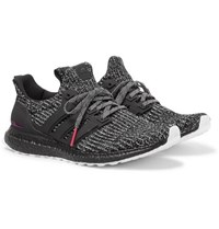 Adidas Originals Ultraboost 4.0 Rubber Trimmed Primeknit Sneakers Gray
