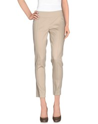 Pianurastudio Trousers Casual Trousers Women Sand