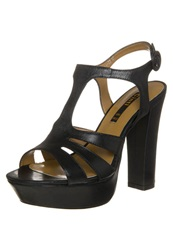 Cinti Platform Sandals Nero Black