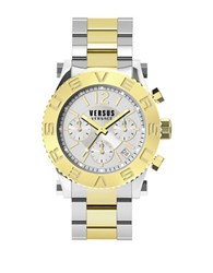 Versus By Versace Madison Two Tone Stainless Steel Chronograph Soh010015