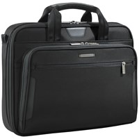 Briggs And Riley Kb206 4 Business 15.6 Laptop Briefcase Black