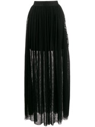 John Richmond Gallego Long Pleated Skirt 60