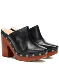 Jacquemus Les Sabots Leather Mules Black