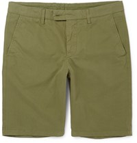 Aspesi Cotton Shorts Green