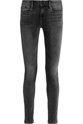 Vince Riley Low Rise Skinny Jeans Anthracite