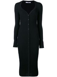 Givenchy Cardi Coat Women Wool L Black