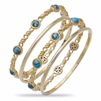 Lmj Sunshine And Sea Stackable Bangles