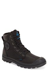 Men's Palladium 'Pampa Sport Cuff' Waterproof Boot Black