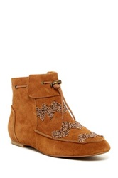 House Of Harlow Monty Moc Bootie Brown