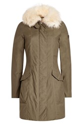 Peuterey Jacket With Fur Trimmed Hood Gr. It 38